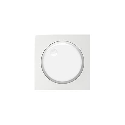 Abdeckung für Drehdimmer weiß glänzend Kontakt Simon 82 82054-30