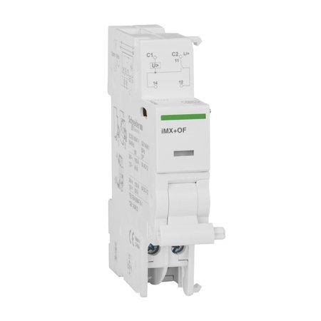 Arbeitsstromauslöser Acti9 mit Kontakt iMX+OF-12/24 1CO 12…24 V AC/DC