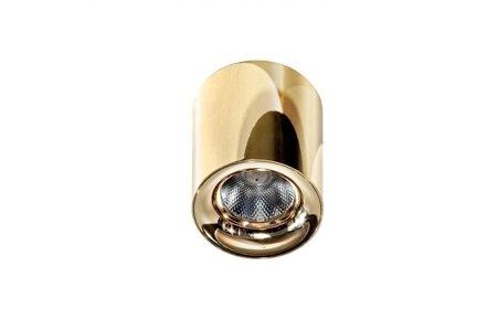 Aufbaustrahler MANE Modern Metall, Aluminium Gold Azzardo AZ2846