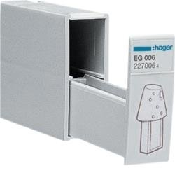 Aufbewahrungsfach für Programmierschlüssel CRONOTEC Hager EG006