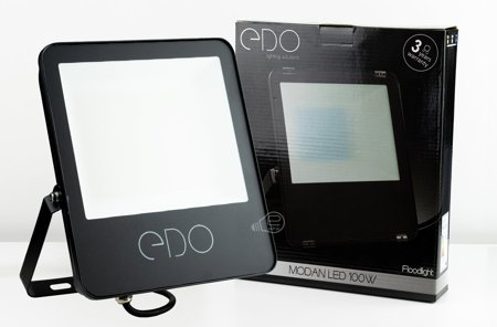 Außenstrahler Außenbeleuchtung Gartenbeleuchtung MODAN LED 100W 4000K 16000lm IP65 EDO777286 EDO