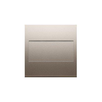 Blindverschluss für Rahmen mit Steckbefestigung gold matt Simon 54 Premium Kontakt Simon DP/44