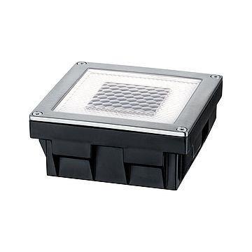 Bodeneinbauleuchten Solar CUBE LED 0,24W 2700K 3,6lm inox IP67 Paulmann