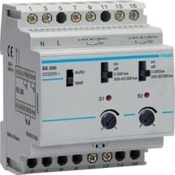 Dämmerungsschalter 2 Kanäle 20kLux Hager EE200