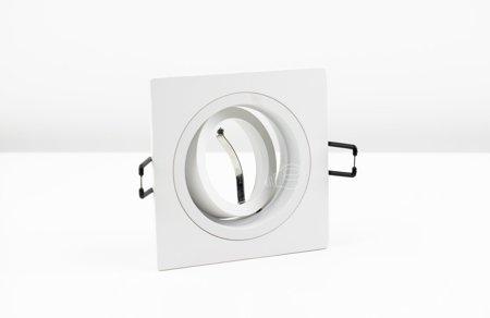 Deckeneinbauleuchte Deckenspot Einbaustrahler TULID SQ White IP20 eckig weiß EDO777327 EDO