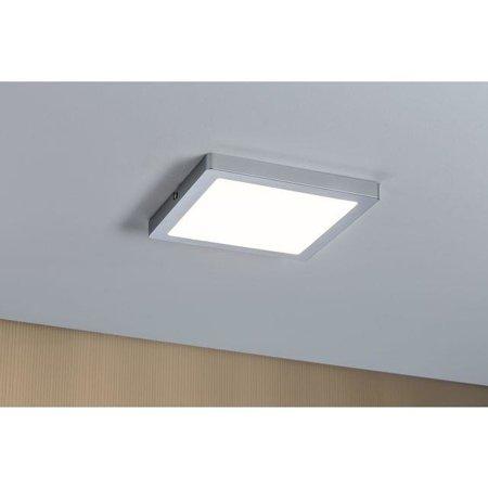 Deckenleuchte ATRIA quadratisch LED 20W 2700K DIM Chrom matt Paulmann PL70866