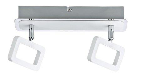 Deckenleuchte LED SL Frame 2x4,5W 3000K 320lm Chrom