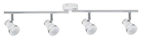 Deckenleuchte LED Spotlight Clear 4x4,3W 3000K Chrom