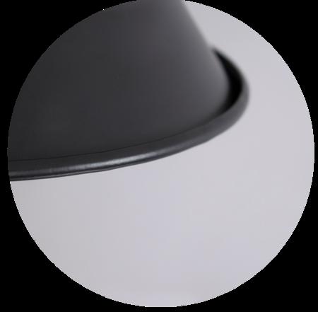Deckenleuchte Pendelleuchte LOFT GRAVIS E27 Kette schwarz 1m EDO777185 EDO