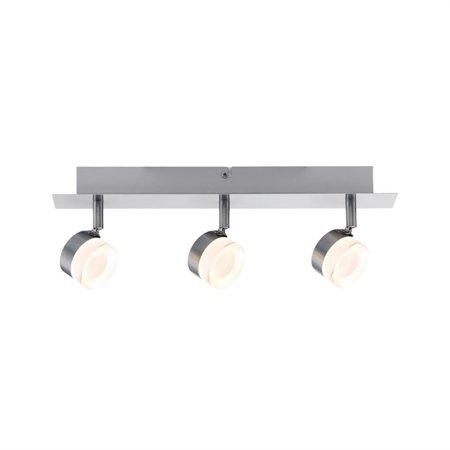 Deckenleuchte Slice LED spot 3x4,3W 3000K Rostfreier Stahl