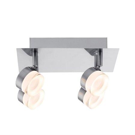 Deckenleuchte Slice LED spot 4x4,3W 3000K Rostfreier Stahl