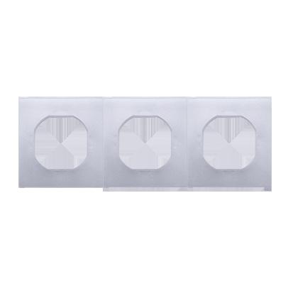 Dichtungsset IP44 für Rahmen 3fach Simon 54 Premium Kontakt Simon DU3