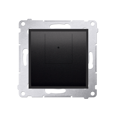 Dimmer 2 fach (Modul) anthrazit matt 40–500 W (300 VA) Simon 54 Premium Kontakt Simon D75310.01/48