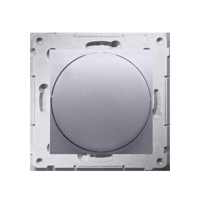 Dimmer mit Dreh-/Druckknopf silber matt Simon 54 Premium Kontakt Simon DS9T.01/43