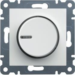 Drehdimmer 60-600W, weiß WL4010 Lumina Hager