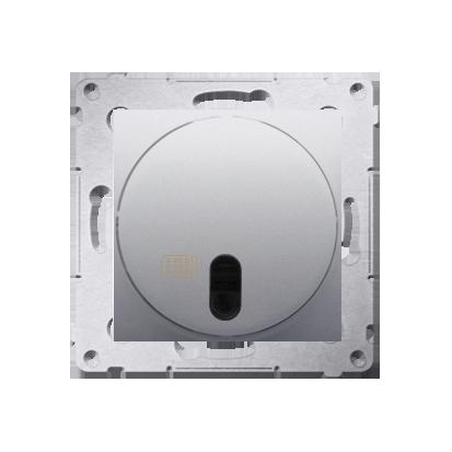 Druckdimmer (Modul) mit Fernbedienung 20- 500W silber matt Kontakt Simon DS13T.01/43