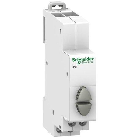 Drucktaster Doppel (Rückstellung) iPB-20-20-2 20A 1NO/1NO grau/grau Schneider