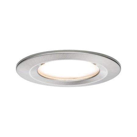 Einbauleuchte LED Premium EBL Coin Slim 6,8W 2700K 415lm IP44 Aluminium