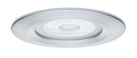 Einbauleuchte dimmbar LED Premium EBL Nova 1x7W GU10 Aluminium IP44