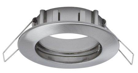 Einbauleuchte, rund GU5,3 Eisen gebürstet IP44