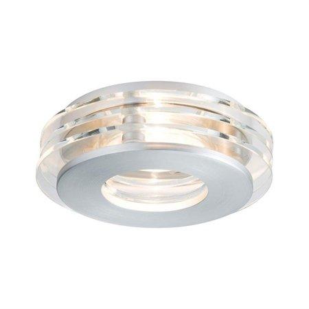 Einbauleuchte, rund Shell LED GU10 3x3,5W Aluminium