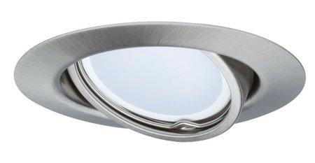 Einbauleuchte schwenkbar LED EBL GU10 4,5W Eisen gebürstet