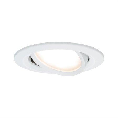Einbauleuchte schwenkbar LED Set Premium EBL Coin Slim 3x6,8W 2700K 415lm weiß