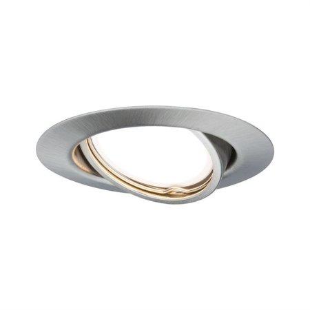 Einbauleuchte schwenkbar Set LED EBL GU10 3x4,5W Eisen gebürstet
