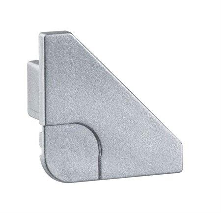 Endung 2er Pack Delta Profil Aluminium