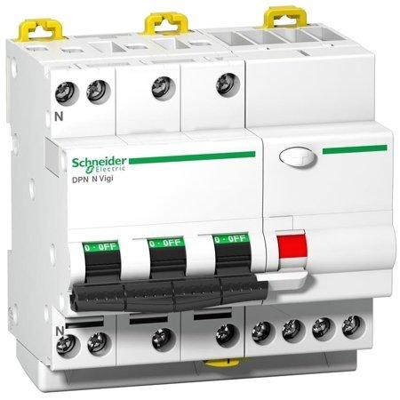 Fehlerstrom-Schutzschalter DPNNVigi-C10-30-AC C 10A 3N-polig 30 mA Typ AC