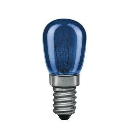 Glühbirne E14 blau 15W 20lm