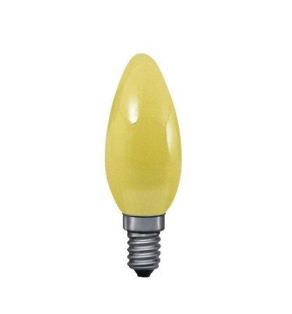 Glühbirne Kerze Gelb E27 25W 83lm