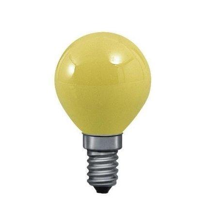 Glühbirne Kugel Gelb E14 25W 83lm