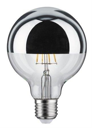 Glühbirne LED Globe 95 E27 5W Silver 2700K 420lm