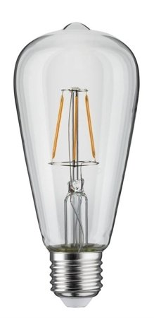 Glühbirne LED ST64 E27 4W 1800K 300lm Rustika