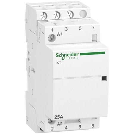 Installationsschütz iCT50-25-30-230 25A 3NO 50Hz 220/240 VAC