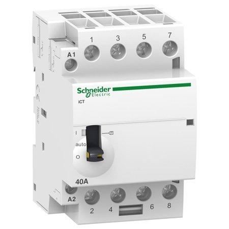 Installationsschütz iCT50r40-40-230 40A 4NO 50/60Hz 220/240 VAC