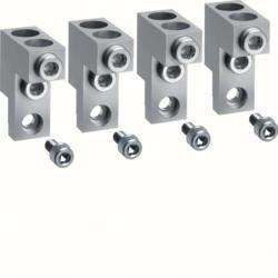 Klemmen für Baugröße h400/h630 4polig Alu/Kupfer 2x 95-240mm? Hager HYD008H