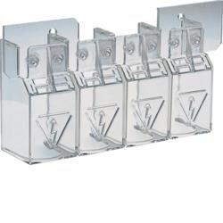 Klemmenabdeckungen für Lasttrennschalter 400-630A 4polig Hager HZC206