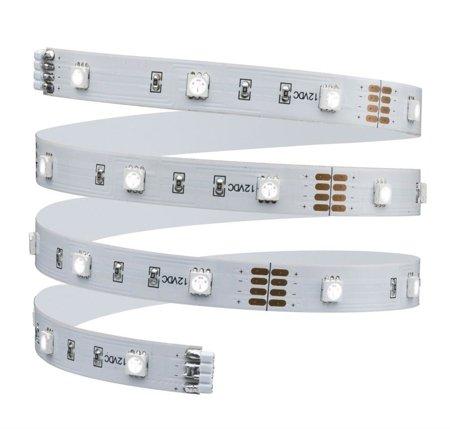 Komplettset mit Stripe LED 1m BlackLight LED 7,2W Weiß + Speiseleitung 15VA