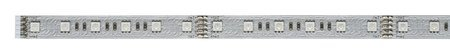Komplettset mit Stripe LED MaxLED RGB 1m 13,5W 420lm 24V Silber