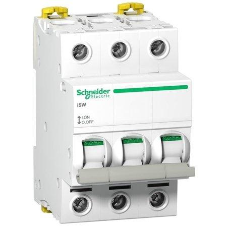 Lasttrennschalter - Isolierung iSW-125-3 125A 3-polig Schneider A9S65392