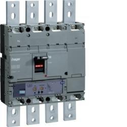 Leistungsschalter Baugröße h1000 4polig 50kA 800A LSI Hager HNE801H