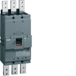 Leistungsschalter Baugröße h1600 3polig 70kA 1250A LSI Hager HEF980H