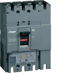Leistungsschalter Baugröße h630 4polig 50kA 250A elektronischer Einstell. LSI Hager HND251H