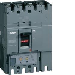 Leistungsschalter Baugröße h630 4polig 50kA 400A elektronischer Einstell. LSI Hager HND401H
