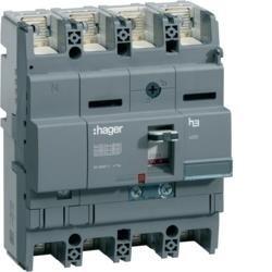 Leistungsschalter Baugröße x250 4polig 40kA 250A TM Hager HNB251H