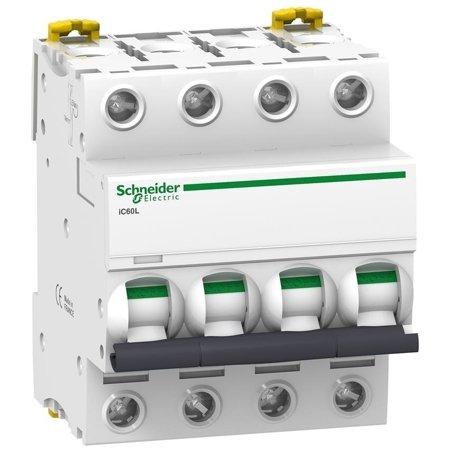 Leitungsschutzschalter iC60L-K4-4 C 4A 4-polig
