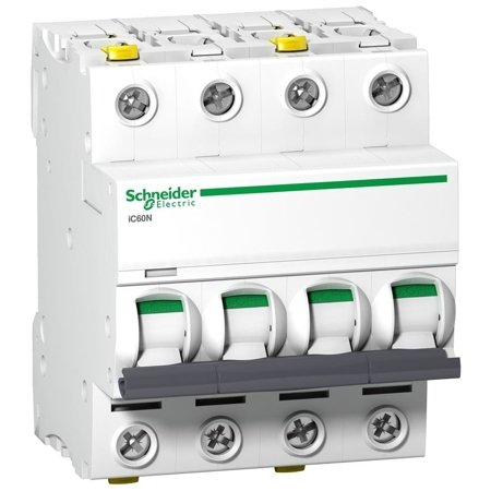 Leitungsschutzschalter iC60N-C4-4 C 4A 4-polig