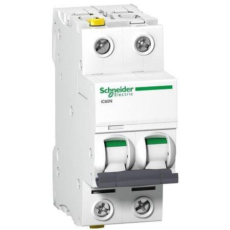 Leitungsschutzschalter iC60N-D6-2 D 6A 2- P+E